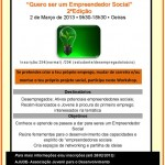 Folheto Empreendedor Social